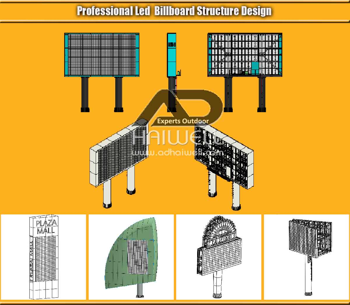 Professional-LED-Billboard-Structure-Design