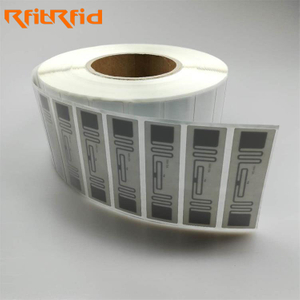 ISO 18000-6C PRINTABLE APPAREL RFID LABEL TAG FOR WAREHOUSE