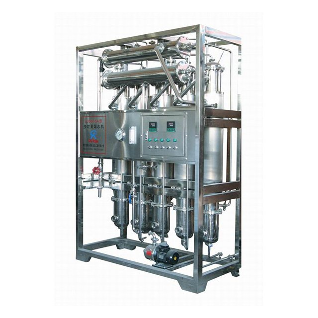 Steam Heated Multi-effect Distilled Water Machine