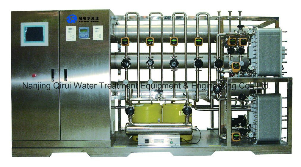 6000L Two Stage RO Water Treatment System + EDI Unit