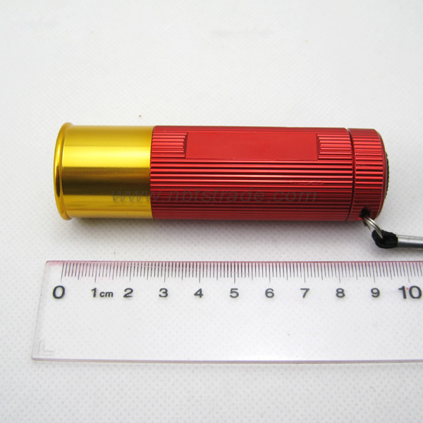 Shot Gun Shell 9 LED Flashlight