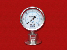 PG-065 Sanitary pressure gauge with Tri-clamp