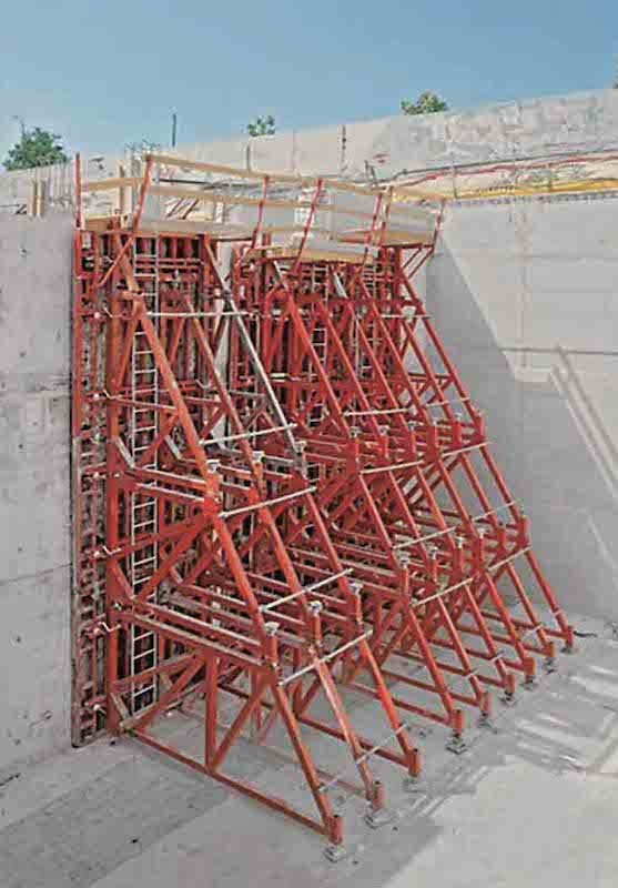 NGM_Singside Wall Formwork_construction supporting frame_c