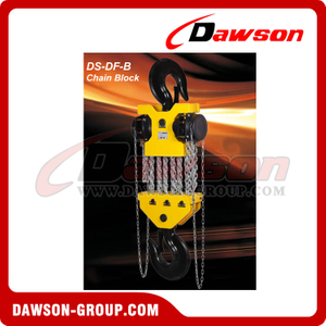 Grua Chain de DS-DF-B 15T, 20T, 30T, bloco Chain