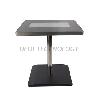 Dedi indoor 21.5 inch lcd interactive touch screen table for cafe restaurant