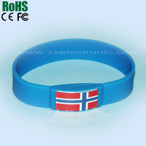 flash bracelet with National flag