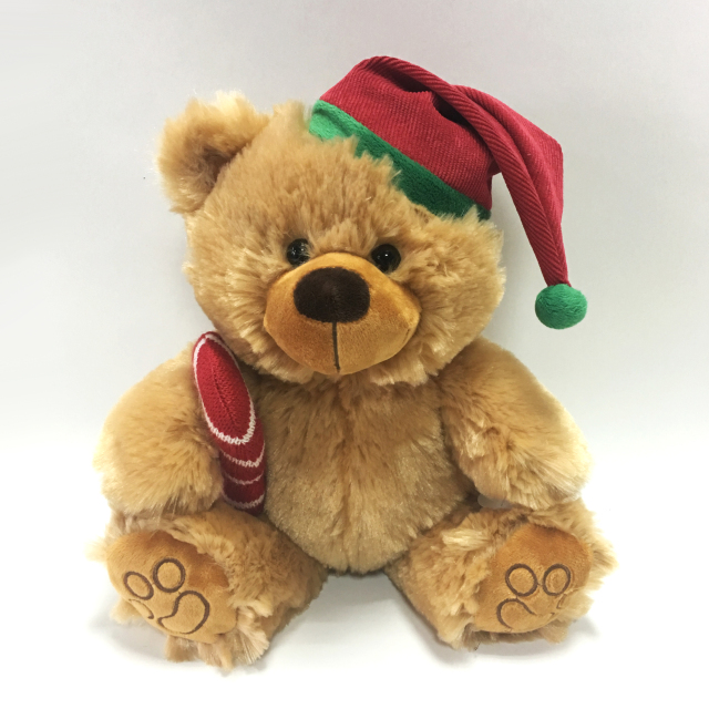 Soft Teddy Bears Plush Kids Brown Christmas Bear Toys
