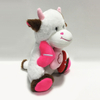 Festival Gift Valentine Plush Stuffed Cow with Brown Ears