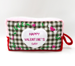 Wholesale Children's Favorite Plush Cartoon Valentine Pencil Bag