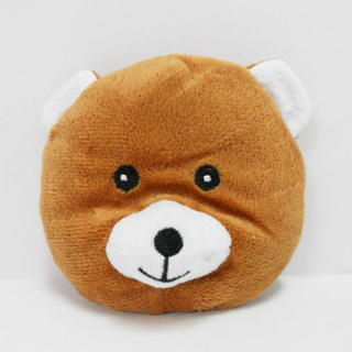 Cute Soft Plush Teddy Bear Shaped Coin Purse for Kids