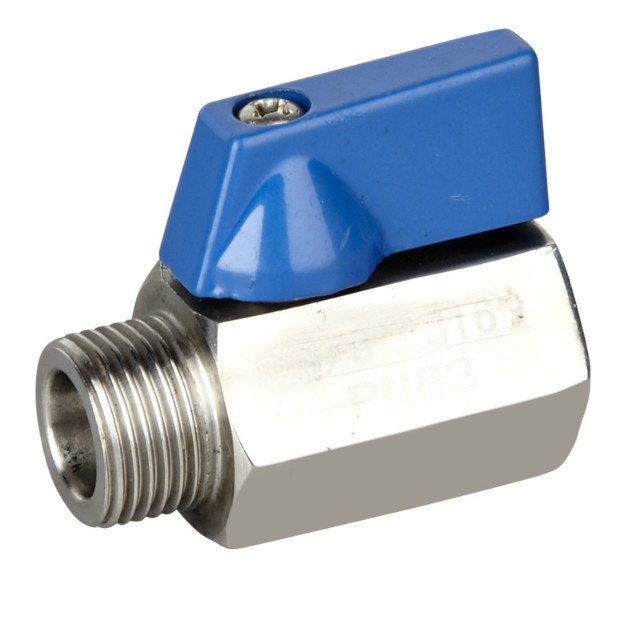 Stainless Steel Mini Ball Valve FM