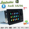 "7""audi A6 S6 Android 9.0 Multimedia Car Stereo Bluetooth Usb Fm Aux Screen Mirroring Wifi hualingan"