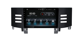 "9"" Toyota Mark X 2006 Android 9.0 Stereo Radio TV,DVD,AUX,USB Blue Aay Anti-glare And Anti-glare"