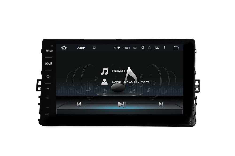 Volkswagen universal 9 inch car DVD navigation car audio Android 8.1