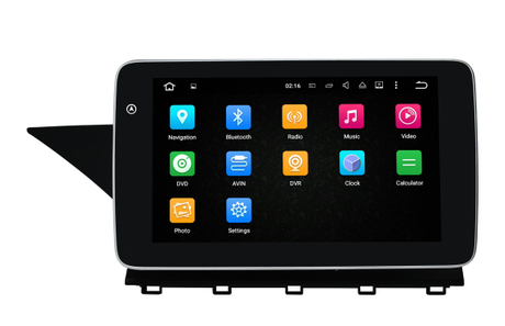 "9""Benz GLK X204 Android 8.0 Car Dvd Player Anti-Glare Car Stereo"
