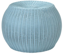 Modern Wicker/Rattan Ottoman for Outdoor (SO-401-54)