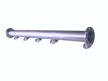 Stainless Steel Pump Manifold With Flange