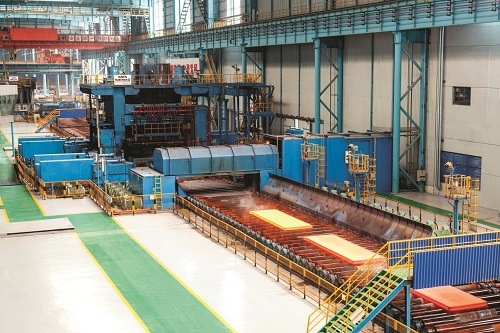 Large Heat Input Welding Steel Plate for Shipbuilding and Offshore Oil Production Platform