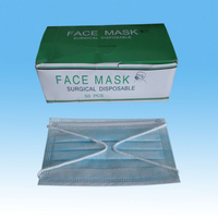 Disposable Earloop 3-Ply Nonwoven Face Masks