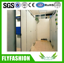 Public wooden WC part toilet partition for wholesale (WC-04)