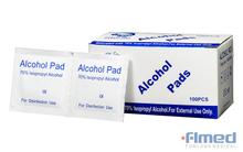 Mini Alcohol Swabs, 60 X 30mm, 70% Isopropyl Alcohol, 100 Packs Per Box