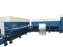 Automatic online hydro testing machine