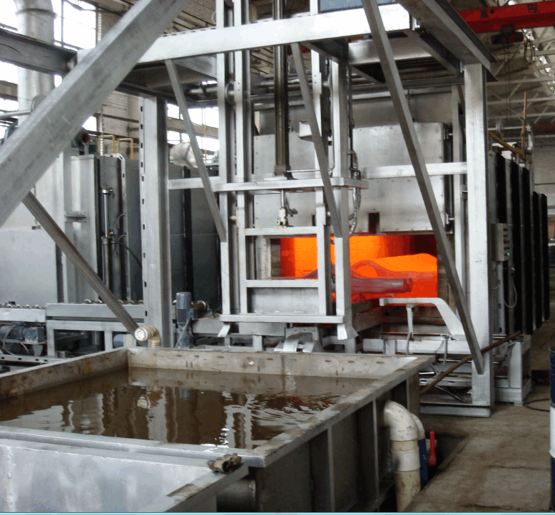 pusher type bright annealing furnace for copper coil
