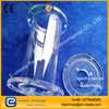 Quartz flange, quartz heat shield, quartz insulation ring, quartz ring, quartz insulated top cover