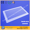 Transparent perforated quartz film as the film frosted tablets of high - temperature custom - tailored slotted tablets
