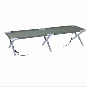 (C07) Folding Light Weight Alumium Single Camping Bed