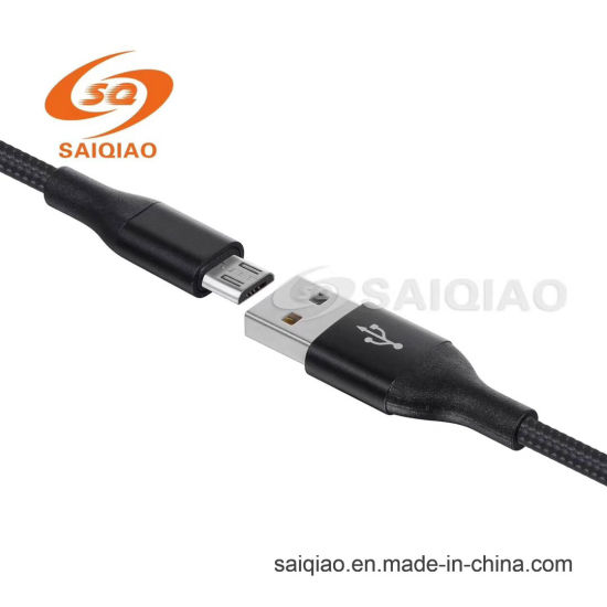 Spot V8 Braided Charging Data Cable for Android with Appearance Patent