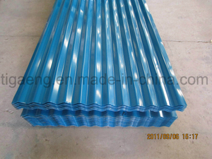 Color Coated Roofing/Colour Coated Steel Roof Tile for Angola