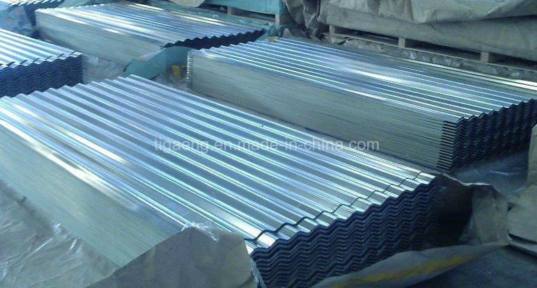 High-End Good Quality Corrugated Galvanized Steel Roofing Plate