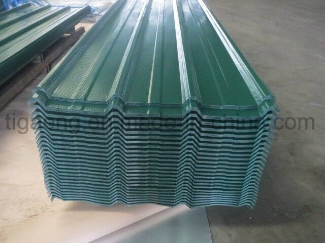 High Quality Convenient Fabricating Color Coated Galvanized Steel Tile