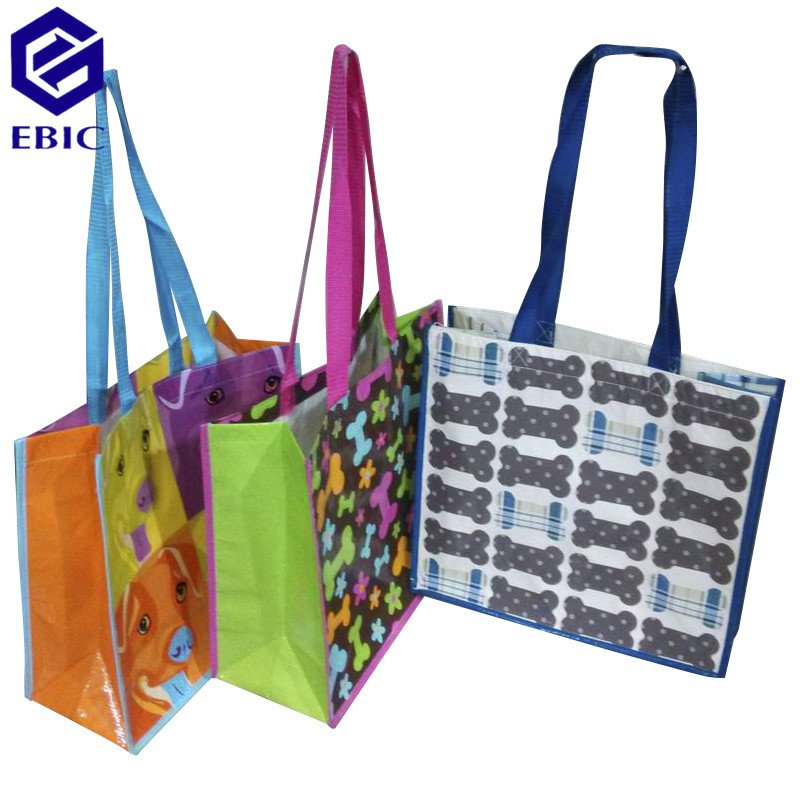 printed shopping bag