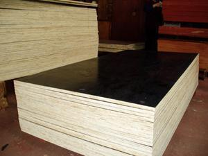9*1250*2500mm Birch Core Film Faced Plywood First Grade