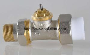 Thermostatic radiator PPR/PB/PE valve