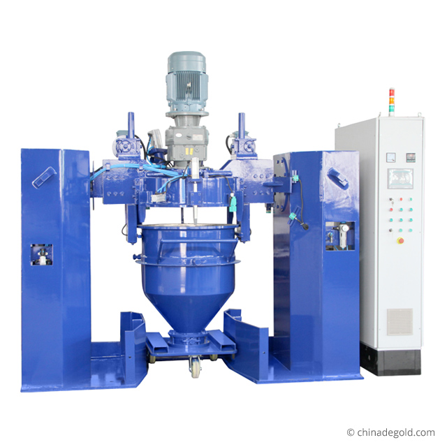 水牛闪电appCM系列150L容积式混合机粉末涂料生产设备