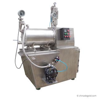 水牛闪电appZM-X系列30L油漆涂料生产卧式砂磨机