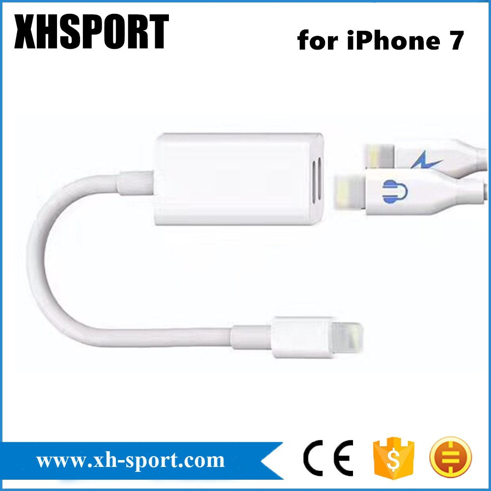 2 in 1 Lightning Adapter & Charger Cable for iPhone/iPad