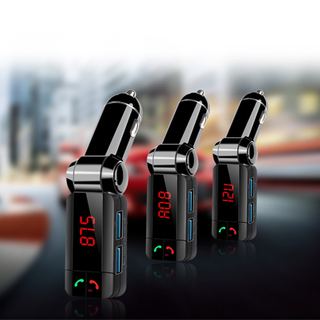 Universal Bluetooth Car Charger Bluetooth Car Kit Car Bluetooth MP3 Player Handsfree Bluetooth FM Transmitter