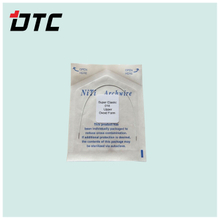 Coated Niti arch wire