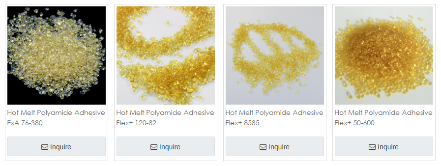 Hot melt adhesives for shoe industries