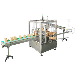 vertical carton packing machine(hot glue)
