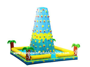 RB13009(7x7x7m) Inflatable Climbing Wall Game/Inflatable Customized Climbing Mountain