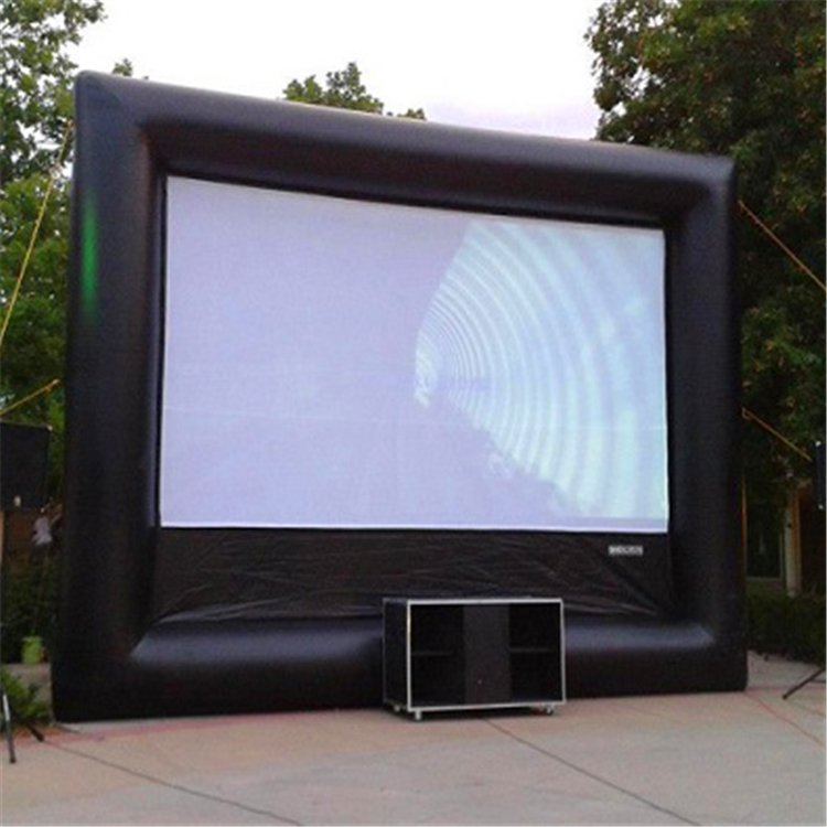 cheap Inflatables movie screen for pool