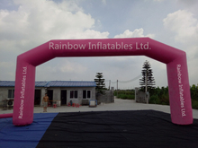 RB21041(9x4m)Inflatable Pink Arch for Advertising
