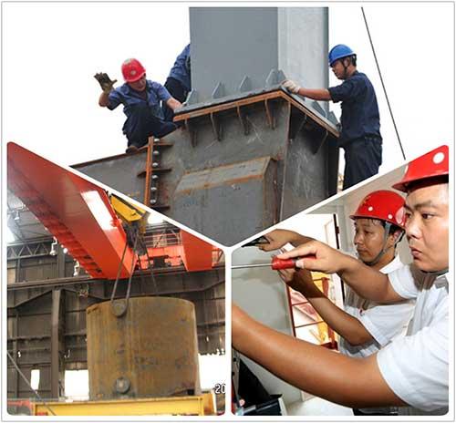 crane lnstallation and commissioning