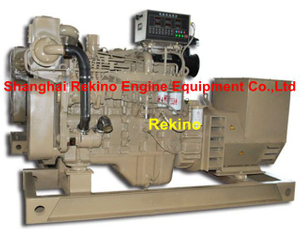 Cummins 50-64KW 50HZ marine diesel genset generator set ( 6BT5.9-GM83 )