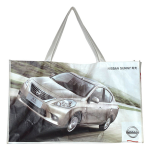 New promo gloss laminating auto show bag